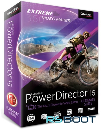 CyberLink PowerDirector 15 Ultimate + Ключ