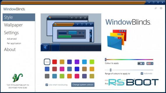 Stardock WindowBlinds 10.7 с ключом