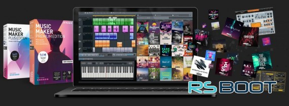 Music Maker 2019 Premium Edition + Ключ